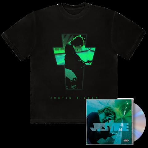 JUSTICE ALTERNATE COVER I + EXCLUSIVE BONUS TRACK I CD + T-SHIRT von Justin Bieber - CD + T-Shirt jetzt im Justin Bieber Shop